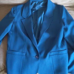 Blazers that fit Vintage Blue Blazer